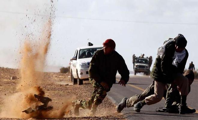 كمين لداعش يوقع عشرات الجرحى والقتلى من عصابات الأسد في بادية السويداء