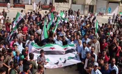 بجمعة لا دستور ولا إعمار حتى إسقاط بشار, أهالي ريف حماة يتظاهرون