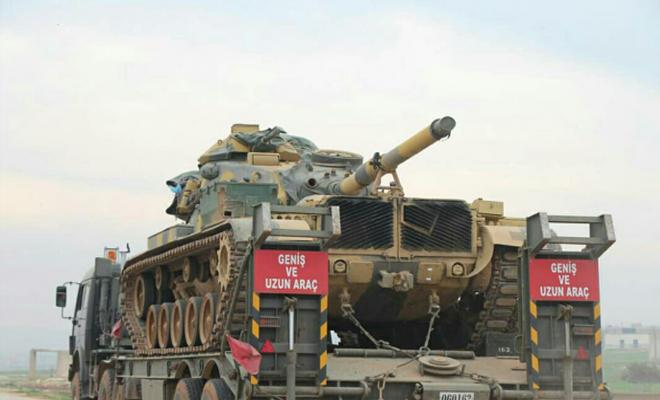 رتل عسكري جديد يصل إلى نقاط المراقبة التركية في ريف حماة