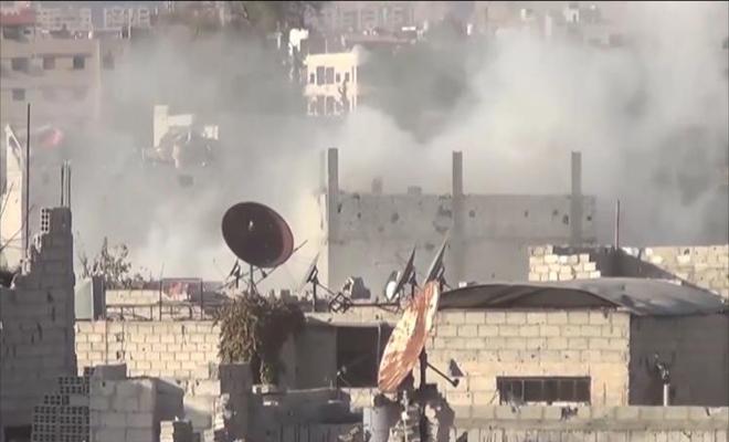 شهداء وجرحى بقصف من مدفعية عصابات الأسد الإرهابية على ريف حلب الجنوبي