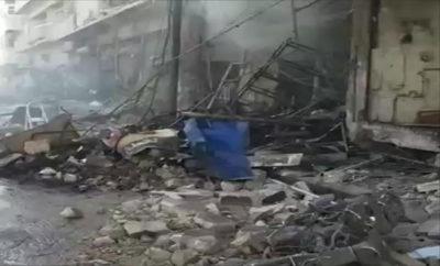 عصابات الأسد تقصف محيط مدينة الباب وأحرار الشرقية يردون بالهاون