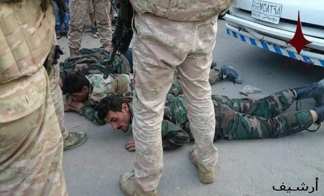 من جديد... الغُزاة الروس يعتقلون ويضربون جنود تابعين لعصابات الأسد في درعا
