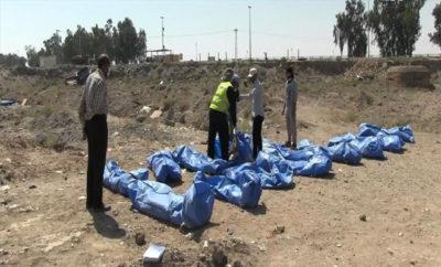 العفو الدولية:2500 جثة تم استخراجها في الرقة