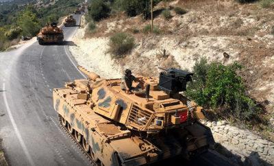 تركيا تعزز قواتها في ريفي إدلب وحماة