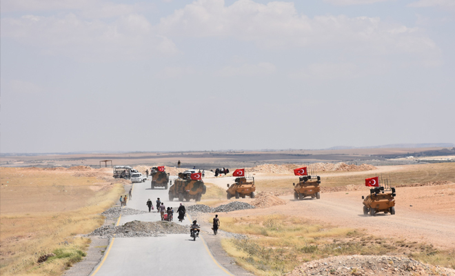 تركية مستعدة لشن عملية عسكرية ضد المليشيات الكردية الإرهابية في منطقة شرق الفرات