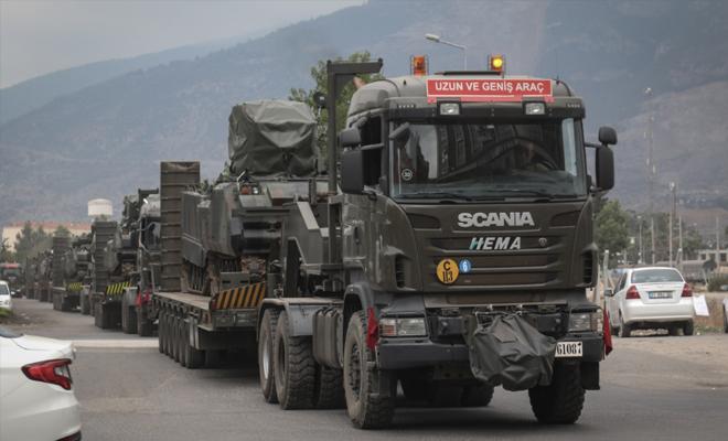 تعزيزات عسكريّة تركيّة جديدة تتجه إلى جبل شحشبو شمال غرب حماة