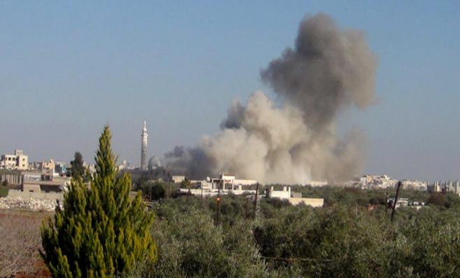 شهيد و جرحى بقصف لعصابات الأسد الإرهابية على مناطق شمالي حلب