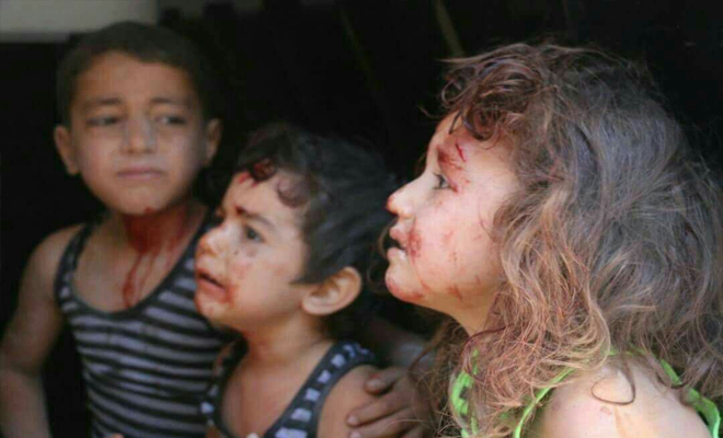عصابات الأسد الإرهابية تقصف ريف إدلب والثوار يردون