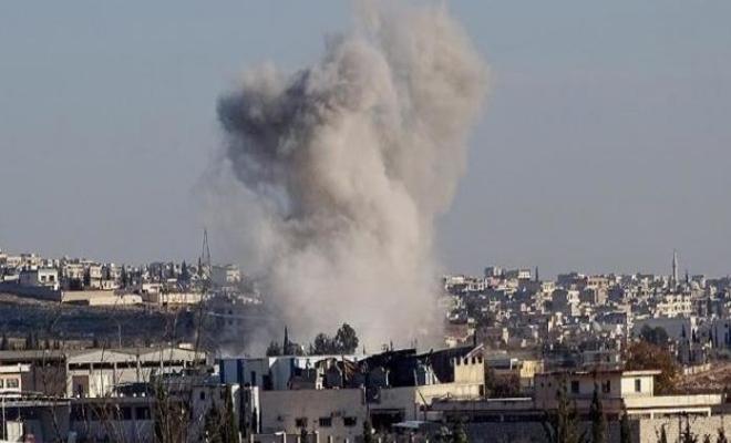 عصابات الأسد الإرهابية تقصف ريف حماة بالمدفعية الثقيلة والصواريخ