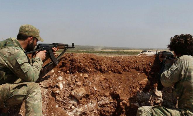 فصائل الجيش الحر تتمكن من إحباط محاولة تسلل لعصابات الأسد في ريف حماة