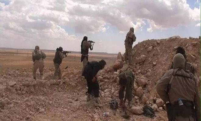 قتلى و جرحى من ميليشيا قسد بهجوم لداعش على مواقعها في دير الزور