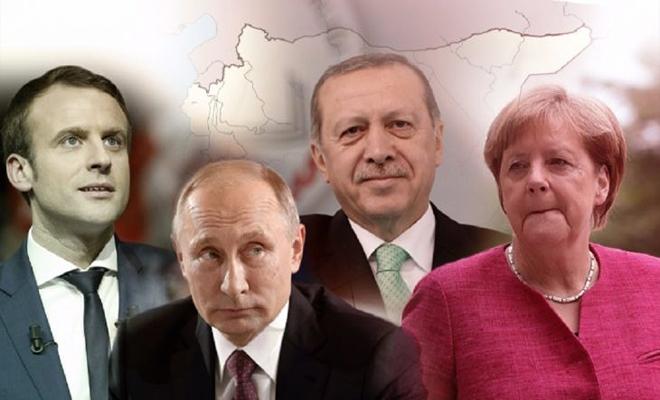 !!!!!قمة إسطنبول الرباعية حول سوريا تختتم أعمالها والنتائج