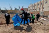 ما يقارب الـ 2777 جثة انتُشِلت من مقابر جماعية بمدينة الرقة
