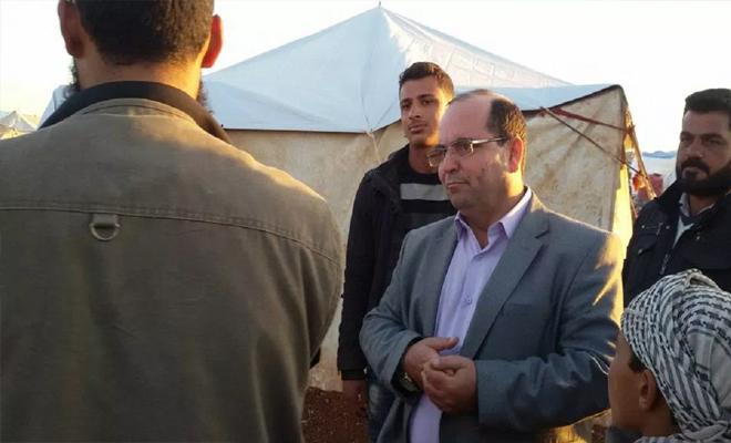 محمد النعيمي مؤسس الرابطة السورية لحقوق اللاجئين في ذمة الله