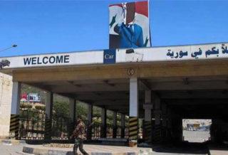 معبر نصيب الحدودي خارج عن سيطرة نظام الأسد