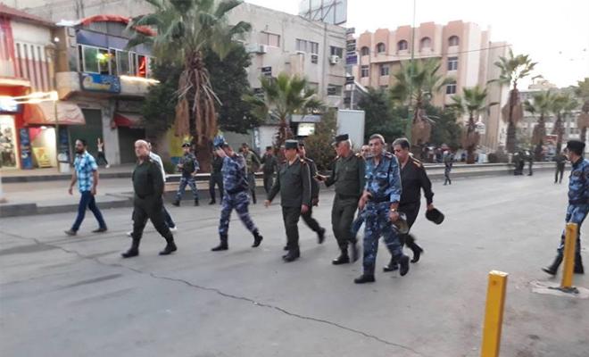 وسط استنفار أمني غير مسبوق ,عصابات الأسد ترسل تعزيزات إلى مدينة السويداء