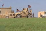 أول نقطة مراقبة للقوات الأمريكية في تل أبيض شمال شرق سوريا