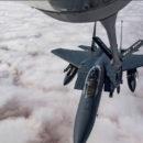 التحالف الدولي ينفي استهدافه للمدنيين في ديرالزور و يؤكد أن هناك جهات قامت بالغارات الجوية على هجين دون التنسيق معه