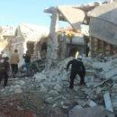 انتهاكات مستمرة لعصابات الأسد وقصف عشوائي بالمدفعية والصواريخ على مدنيي ريف إدلب