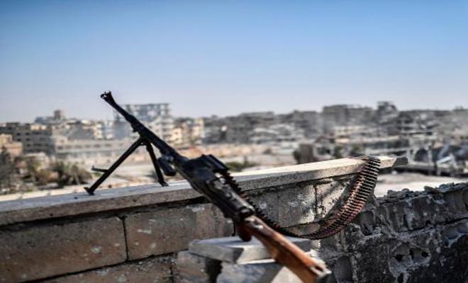 عملية جديدة للمقاومة الشعبية ضد عناصر عصابات الأسد الإرهابية في درعا