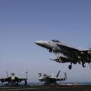 غارات جوية للتحالف الدولي على مواقع لتنظيم داعش في ريف دير الزور الشرقي