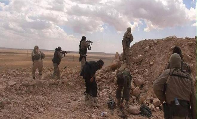 هجوم لداعش يودي بحياة ضباط وجنود من عصابات الأسد في تلول الصفا