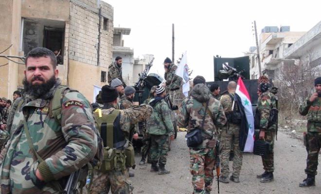 وتستمر عصابات الأسد ...بعد سرقة مصاغ سيدة وجدوها مقتولة في ريف حماة