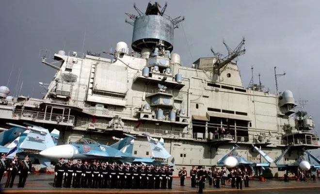 وزارة دفاع الغُزاة الروس :لا يزال تحديث النظام المتقادم لقاعدتنا في ميناء طرطوس مستمراً