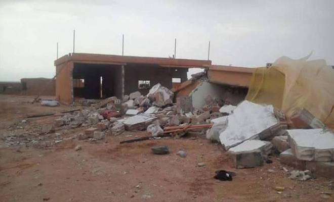 الميليشيات الكردية تأمر بهدم منازل لمدنيين بريف الحسكة