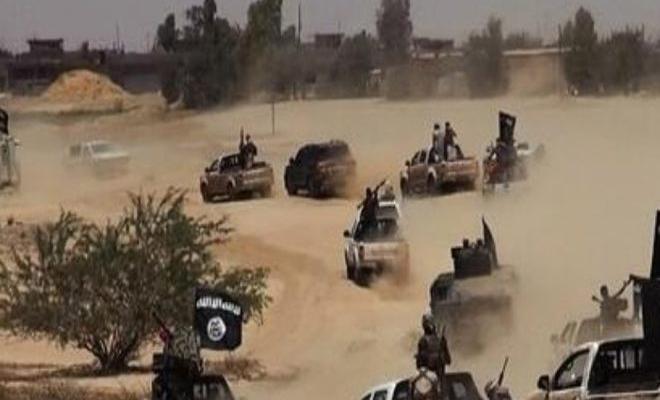 داعش يهاجم مواقع لميليشيا قسد الإرهابية شرقي دير الزور