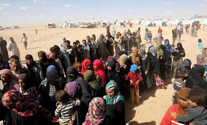نزوح آلاف المدنيين جراء هجمات عصابات الأسد الإرهابية على ريف إدلب