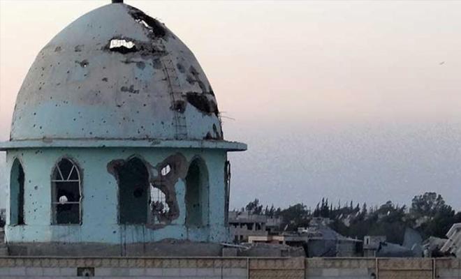 التحالف الدولي يستهدف مسجداً في بلدة الباغوز شرقي دير الزور