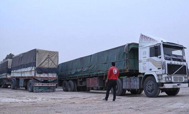 بعد انقطاع لعدة أشهر...عصابات الأسد تسمح بدخول قافلة مساعدات أممية إلى مخيم الركبان