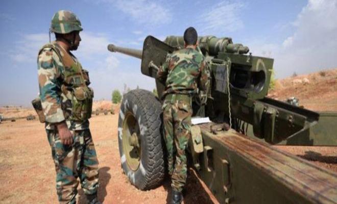 عصابات الأسد الإرهابية تجدد قصفها للمنطقة منزوعة السلاح