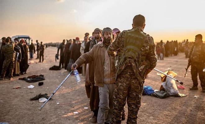 الميليشيات الكردية تطلق سراح 283 سجين ومحكوم من عناصر تنظيم داعش