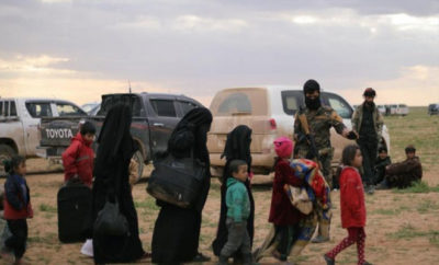 تنظيم داعش يتلف السجلات الرسمية قبل خروجه من الباغوز