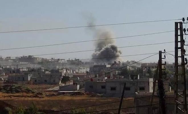 شهداء و جرحى لفصيل جيش العزة بقصف لعصابات الأسد و الغُزاة الروس على ريف حماة