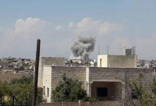 شهداء وجرحى بقصف صاروخي لعصابات الأسد الإرهابية على شرق إدلب