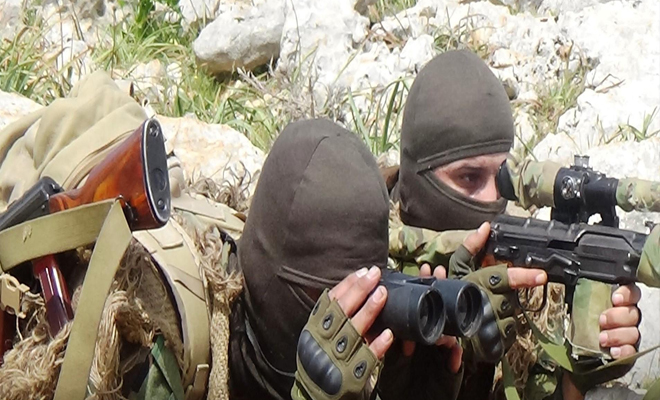 عملية مباغتة ضد عصابات الأسد الإرهابية في سهل الغاب