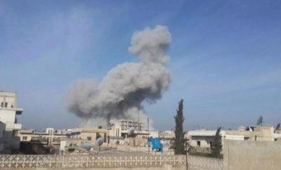قصف مدفعي من عصابات الأسد الإرهابية يستهدف ريف حلب