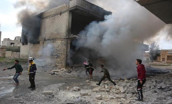 حملات عسكرية للغُزاة الروس وعصابات الأسد بالرغم من اتفاق سوتشي