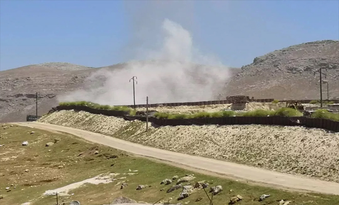 عصابات الأسد الإرهابية تقصف نقطة مراقبة تركية في الشمال المحرر