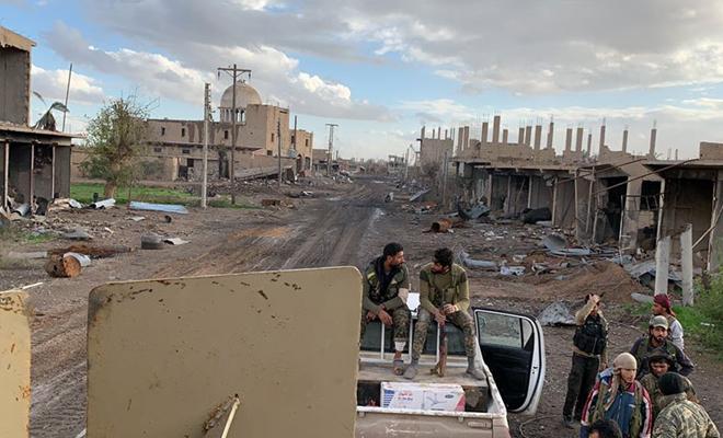 إنزال جوي للتحالف الدولي وحملة اعتقالات في الشحيل بدير الزور