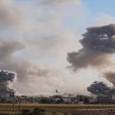 استشهاد أربعة مدنيين بقصف لطائرات نظام الإجرام الأسدي الحربية جنوب إدلب