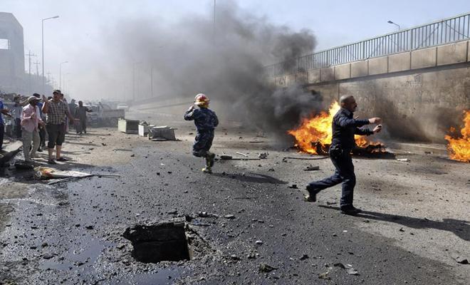 جرحى مدنيون بثلاثة انفجارات منفصلة في المناطق المحررة