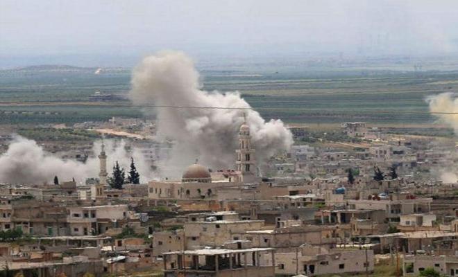 شهداء وجرحى بقصف لعصابات الأسد الإرهابية على مناطق خفض التصعيد