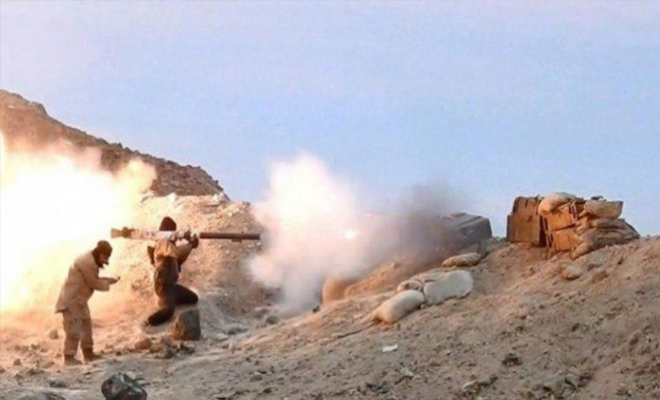قتلى لعصابات الأسد الإرهابية بهجوم لداعش بريف حمص الشرقي
