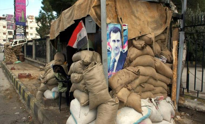 مواقع تابعة لعصابات الأسد الإرهابية تتعرض لهجمات من قبل مسلحين مجهولين في درعا