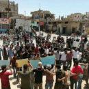 """ناشطون يطلقون هاشتاغ """"عصيان درعا"""" ماهي مطالبهم؟؟؟؟؟"""