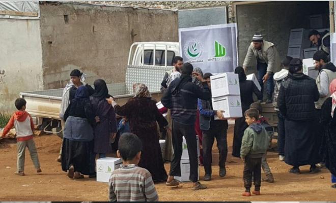 نظام الإجرام الأسدي يحارب المنظمات الإنسانية في مناطق الجنوب السوري المحرر